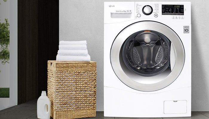 Máy giặt LG F1409NPRW khối lượng giặt đến 9kg để bạn giặt được nhiều hơn trong mỗi lần