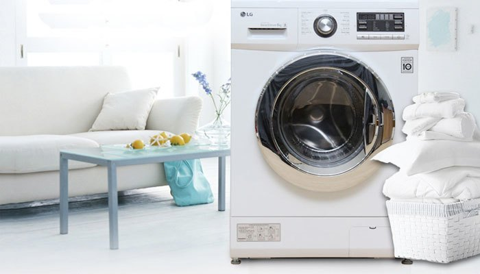 Máy giặt LG F1408NM2W hoạt động êm ái bền bỉ