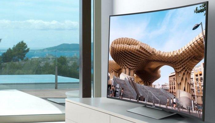 Tivi màn hình cong Sony KD-65S8500D tôn lên vẻ sang trọng cho căn phòng bạn