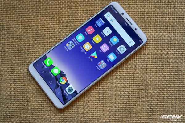 OPPO F5 trang bị màn hình viền mỏng xu hướng