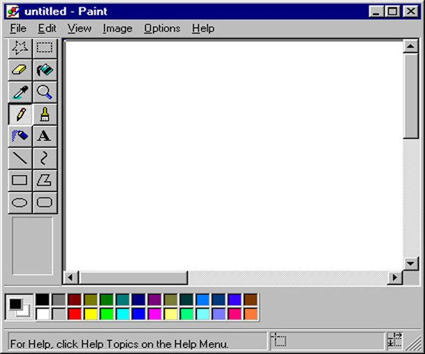 Trước khi có Photoshop chúng ta có Paint trên máy tính. Bây giờ bạn còn dùng không?