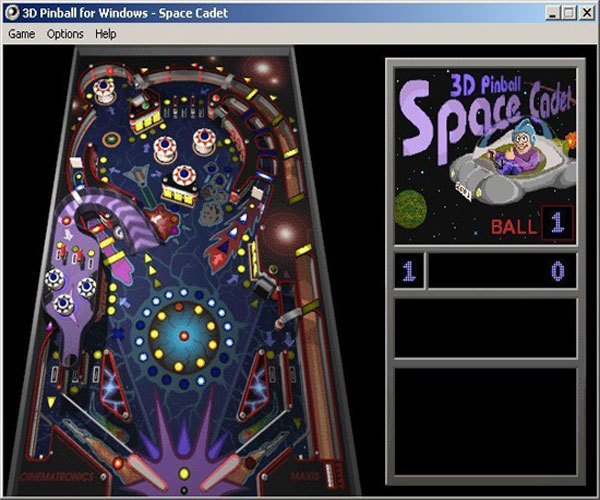 Pinball được xem là trò chơi trên máy tính có sức ảnh hưởng và ngốn không ít thời gian của các cô cậu bé 8x, 9x thời bấy giờ.