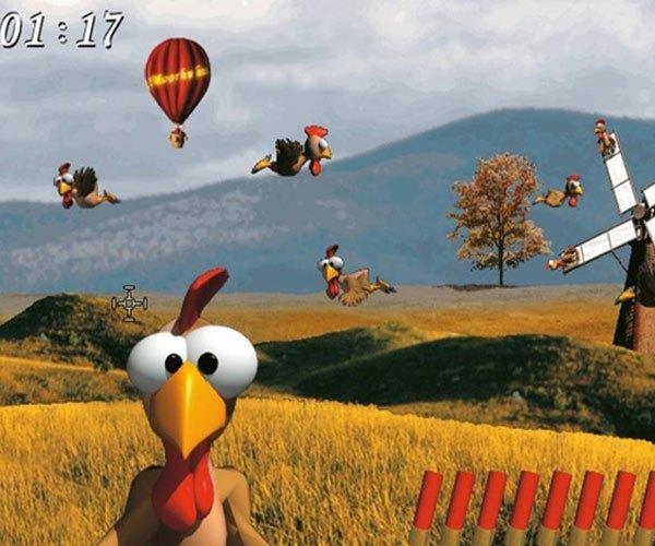 """""""Cục tác, cục tác"""" tiếng những chú gà bị bắn rơi trong game """"bắn gà"""" huyền thoại nghe thật vui tai các bạn nhỉ?"""