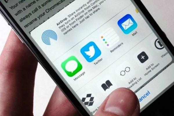 Cách lưu trang vào Reading List vào điện thoại di động sử dụng hệ điều hành iOS