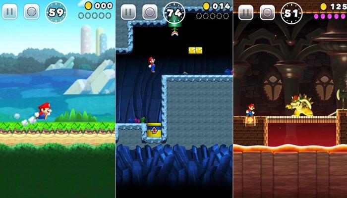 Cầm điện thoại lên và cùng anh chàng Mario thách đấu với bạn bè