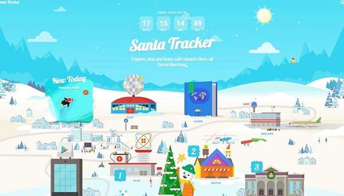 Ứng dụng chơi game trên điện thoại mùa Noel