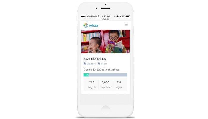 Bạn chỉ cần tải ứng dụng về điện thoại và xem quảng cáo là có thể làm từ thiện