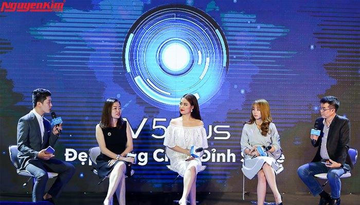 Thiết kế Vivo V5 Plus sang trọng