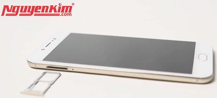 Điện thoại Vivo V5s có 2 khay SIM