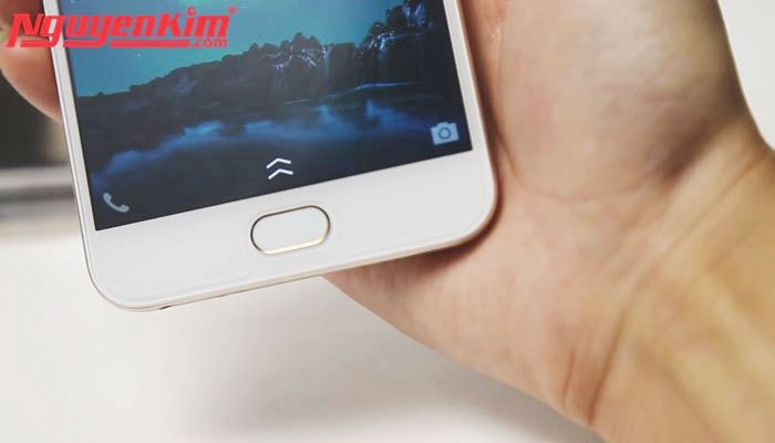 Cảm biến một chạm trên điện thoại Vivo V5s nhanh