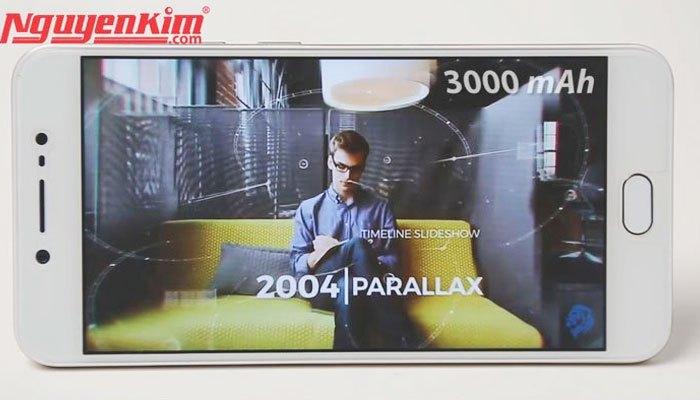 Điện thoại Vivo V5s dung lượng pin 3000 mAh