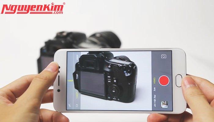 Camera sau của điện thoại Vivo V5s độ phân giải 13MP