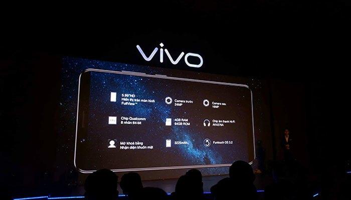 Vivo V7 Plus có cấu hình vượt trội