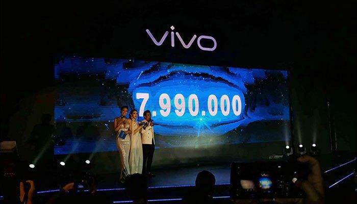 Mức giá của Vivo V7 Plus chưa đến 10 triệu đồng