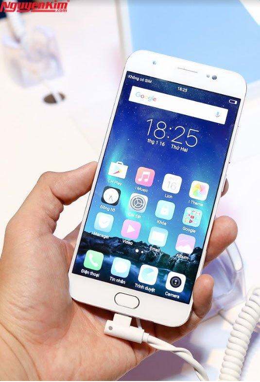 Điện thoại Vivo V5 Plus thiết kế sang trọng