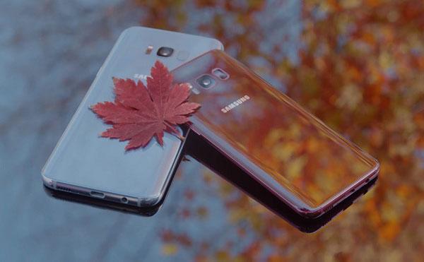Phiên bản đặc biệt của Galaxy S8 được lấy cảm hứng từ sắc màu của mùa Thu