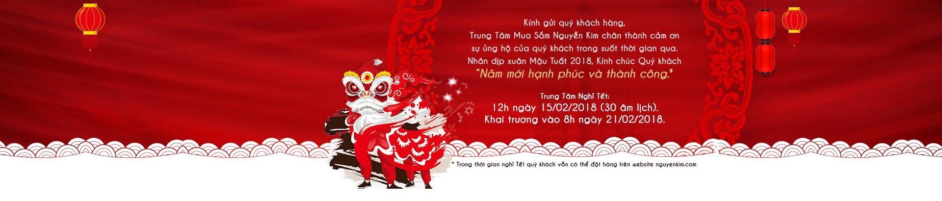 Lịch nghỉ Tết <br/> Nguyễn Kim
