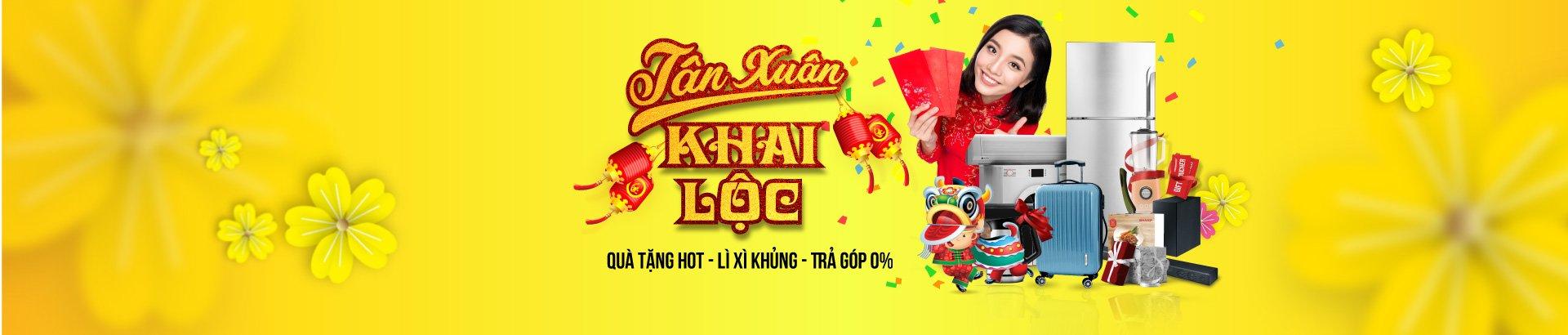 Tân Xuân Khai Lộc <br/> nhận lì xì khủng
