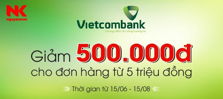 Chương trình liên kết Nguyễn Kim và VietCombank