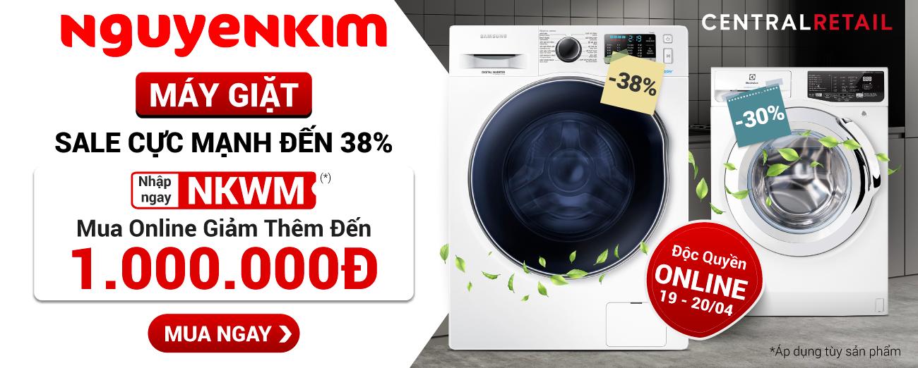 MÁY GIẶT SALE MẠNH ĐẾN 38% - ĐIỆN LẠNH [Homepage]