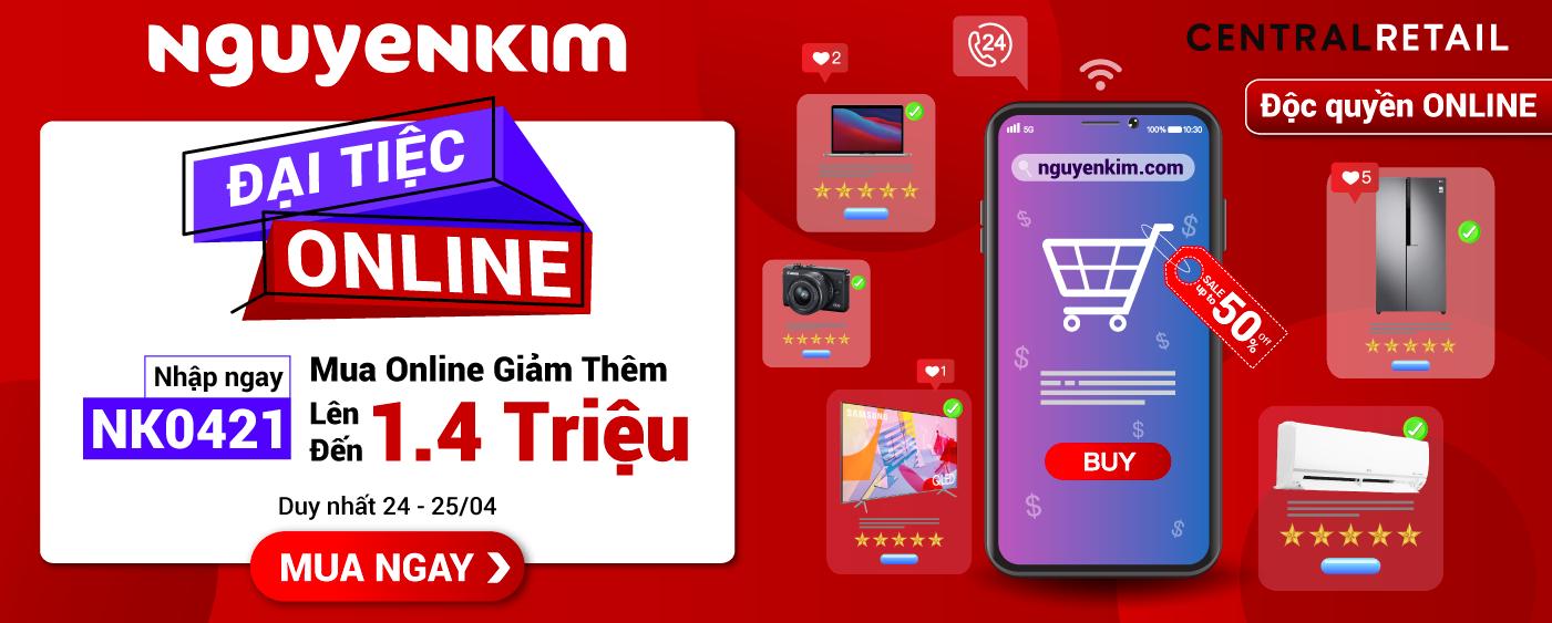 ĐẠI TIỆC ONLINE 04.2021 [Homepage]
