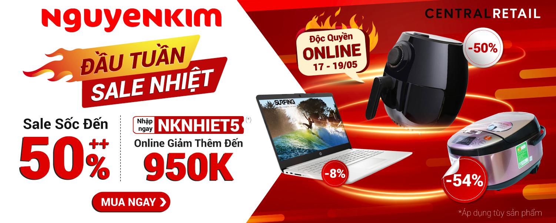 ĐẦU TUẦN SALE NHIỆT - DEAL SỐC ĐẾN 50%++ [Homepage]
