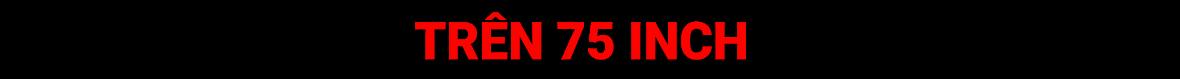 trên 75'