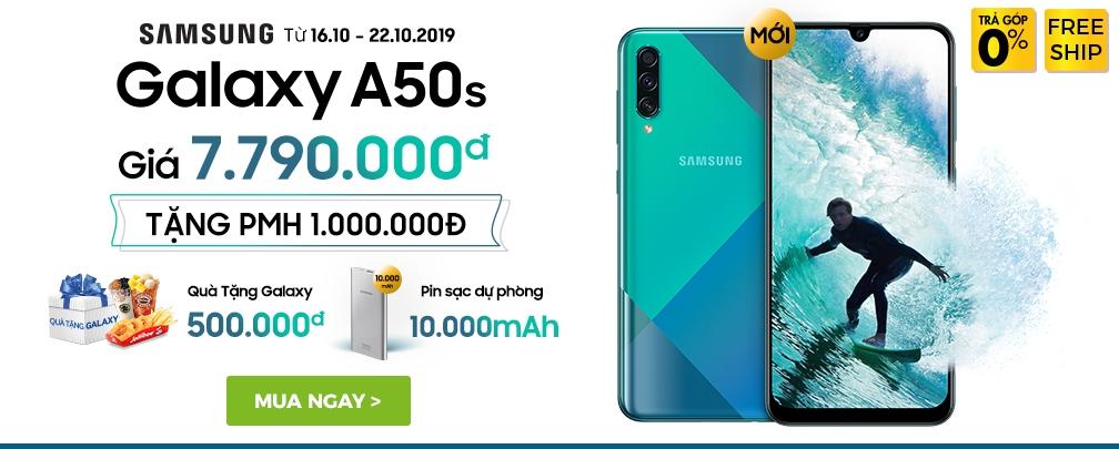 Samsung Galaxy A50s - tháng 10