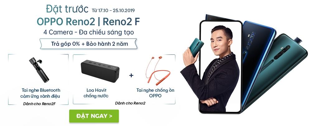 Đặt trước Oppo Reno2 | Reno2 F