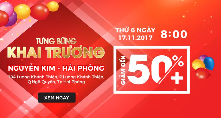 Khuyến mãi hot mới cập nhật tại nguyenkim.com ngày 17/11/2017