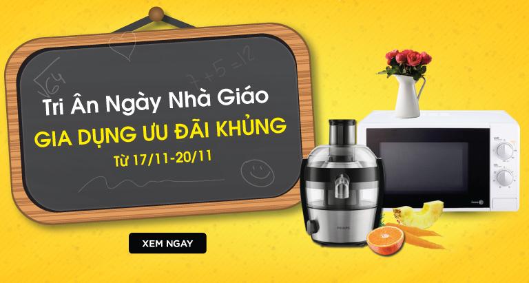 Khuyến mãi hot mới cập nhật tại nguyenkim.com ngày 20/11/2017