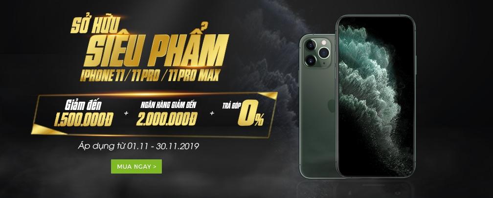 iPhone 11 tháng 11.2019