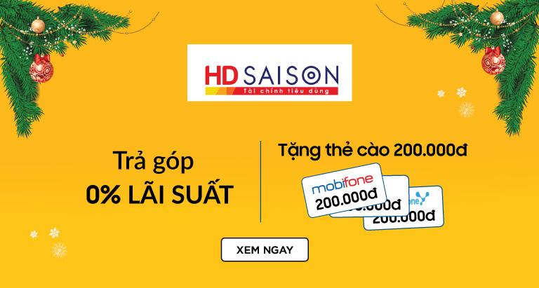 [Khuyến mãi Nguyễn Kim] Khuyến mãi Nguyễn Kim – HDSaison trả góp 0% tặng thẻ cào 200k