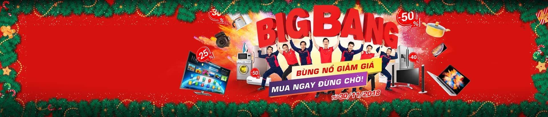 BigBang 2018 <br/>Giảm đến 50%