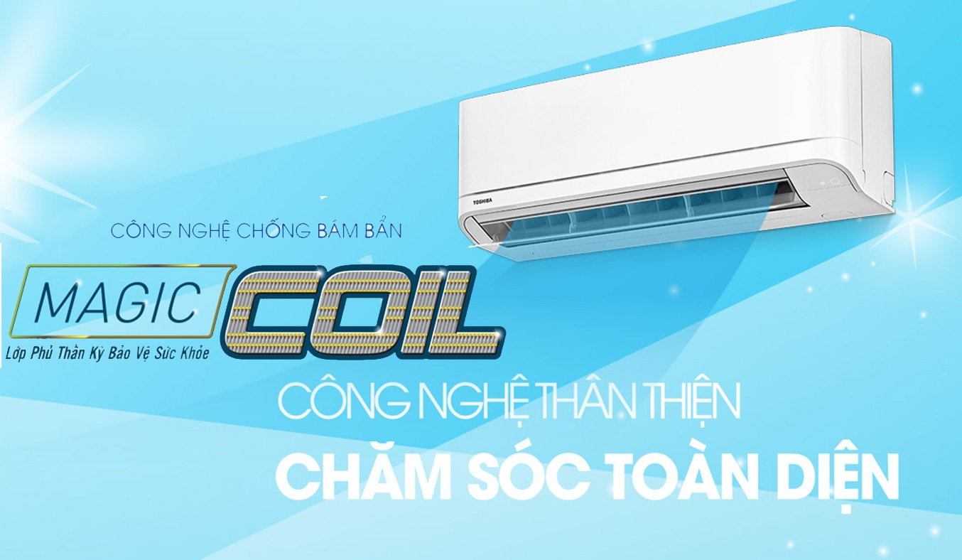 Máy lạnh Toshiba 1.5 HP RAS-H13U2KSG-V sở hữu công nghệ chống bám bẩn