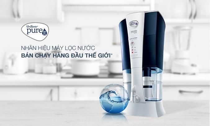 Máy lọc nước Pureit Excella là nhãn hiệu bán chạy hàng đầu thế giới