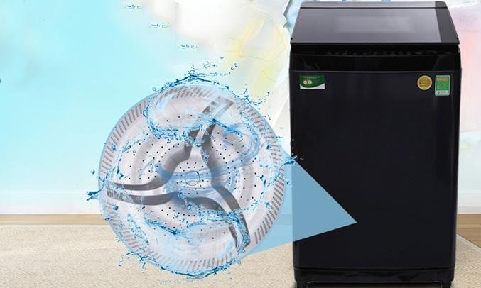 Máy giặt Toshiba 14 Kg AW-DUG1500WV với thiết kế mâm giặt độc đáo