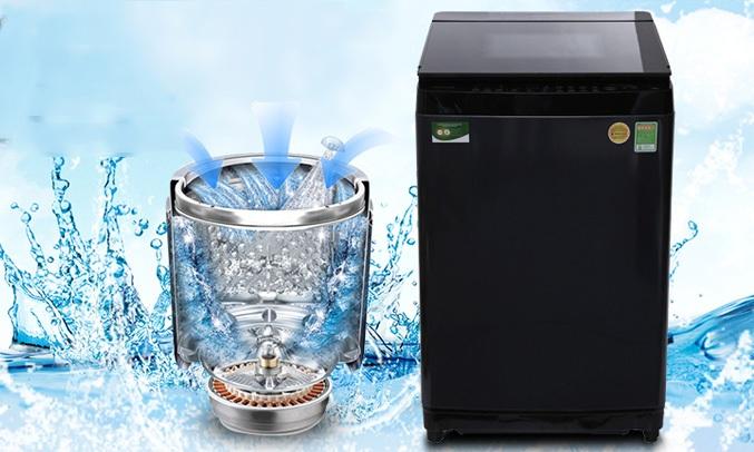 Máy giặt Toshiba 14 Kg AW-DUG1500WV với thiết kế mâm giặt độc đáo với động cơ truyền động trực tiếp