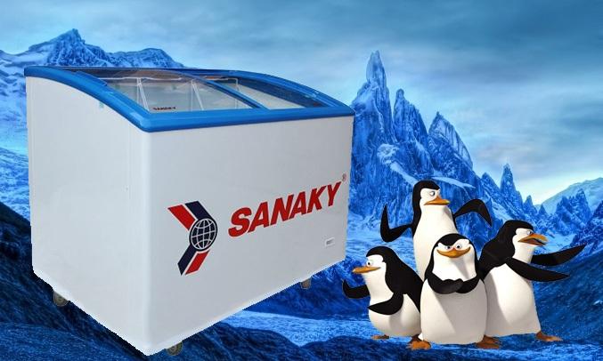 Tủ đông Sanaky 1 ngăn VH 382K có dung tích 260L