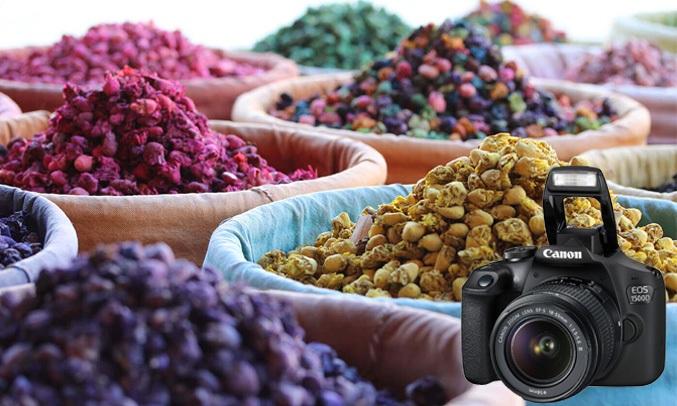 Máy ảnh Canon EOS 1500D KIT 18-55mm thỏa sức sáng tạo