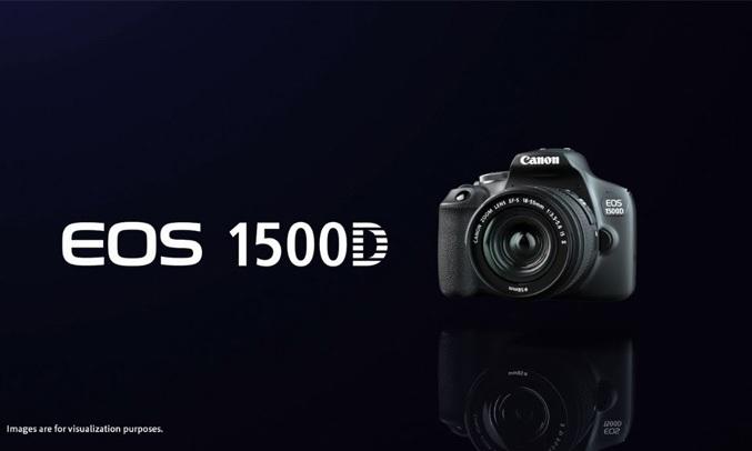 Máy ảnh Canon EOS 1500D KIT 18-55mm kết nối dễ dàng