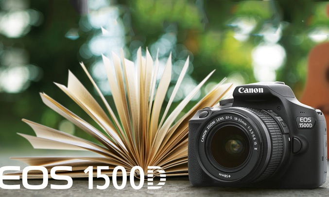 Máy ảnh Canon EOS 1500D KIT 18-55mm lấy nét tự động