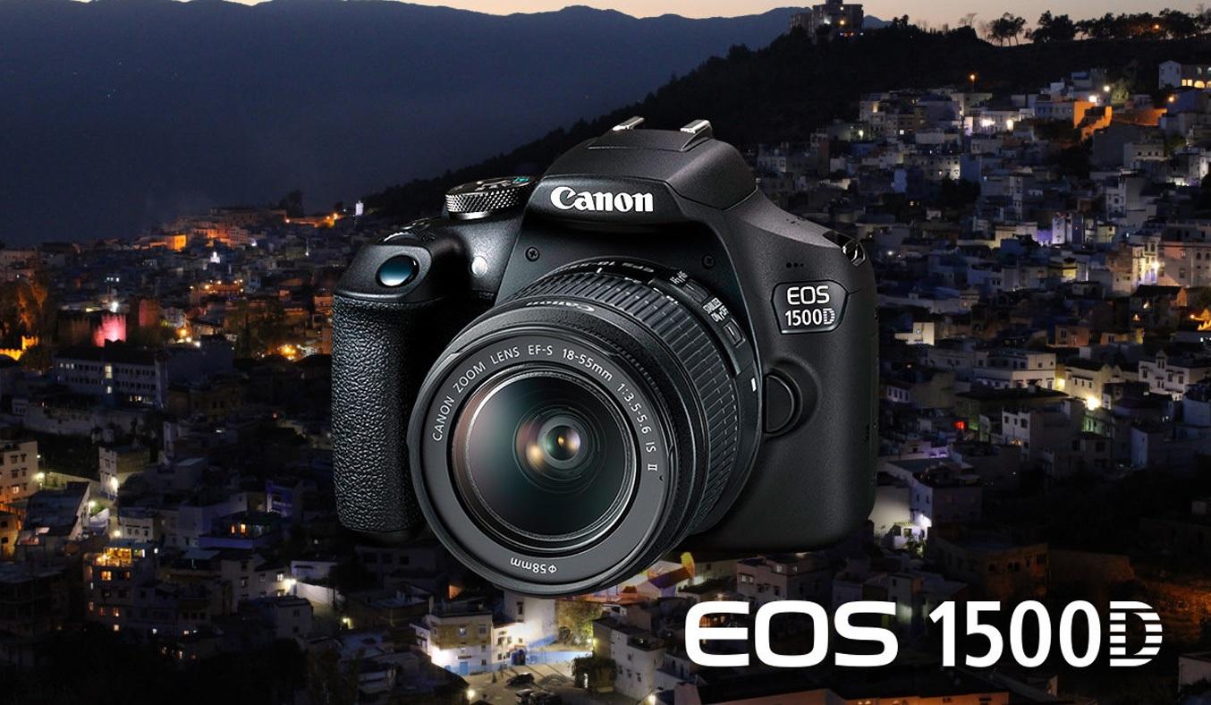 Máy ảnh Canon EOS 1500D KIT 18-55mm mang lại hình ảnh sắc nét