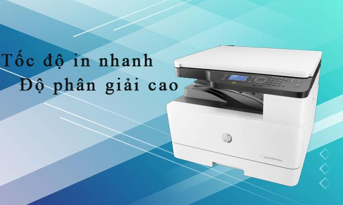 Máy in HP LJ MFP M436N, 1Y WTY_W7U01A có tốc độ in nhanh cùng độ phân giải cao