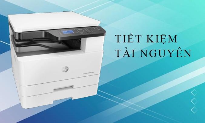 Máy in HP LaserJet MFP M436DN PRINTER, 1Y WTY_2KY38A tiết kiệm tài nguyên với chế độ in 2 mặt tự động