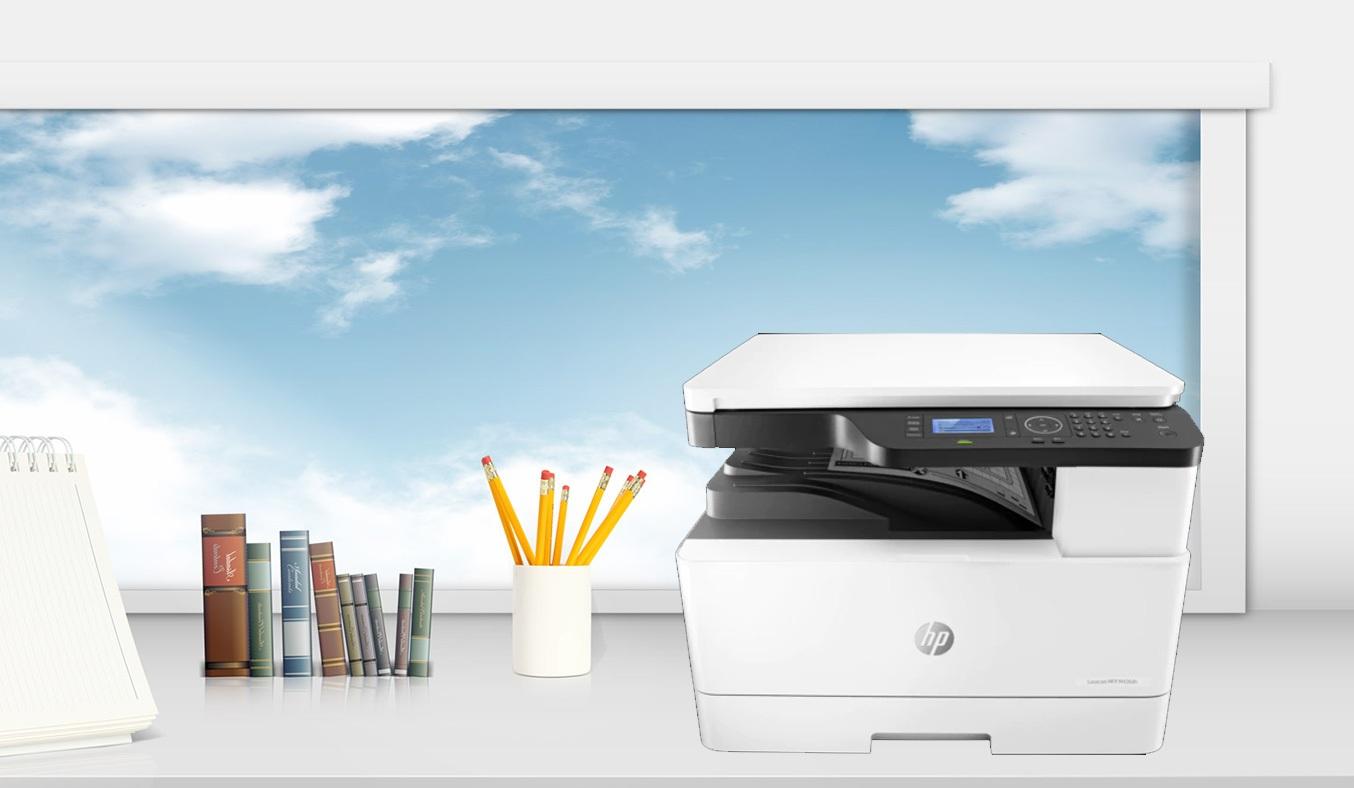 Máy in HP LaserJet MFP M436DN PRINTER, 1Y WTY_2KY38A sở hữu thiết kế tinh tế sang trọng