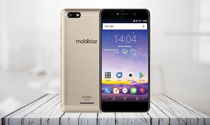Điện thoại Mobiistar Zumbo Power vàng có thời lượng pin lớn đến 4000mAh