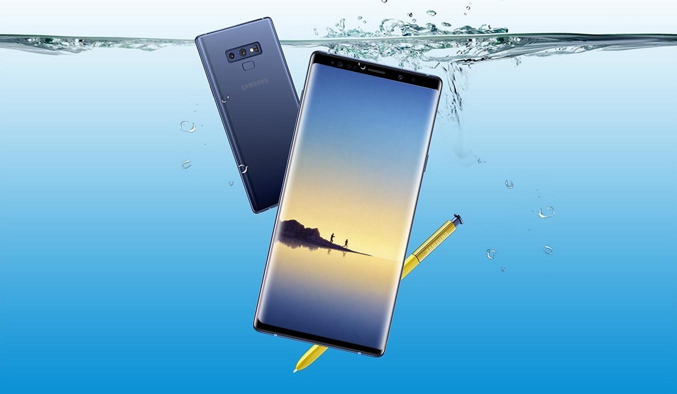 Samsung Galaxy Note 9 có thiết kế mỏng nhẹ, màu đen huyền bí sang trọng vô cùng tinh tế