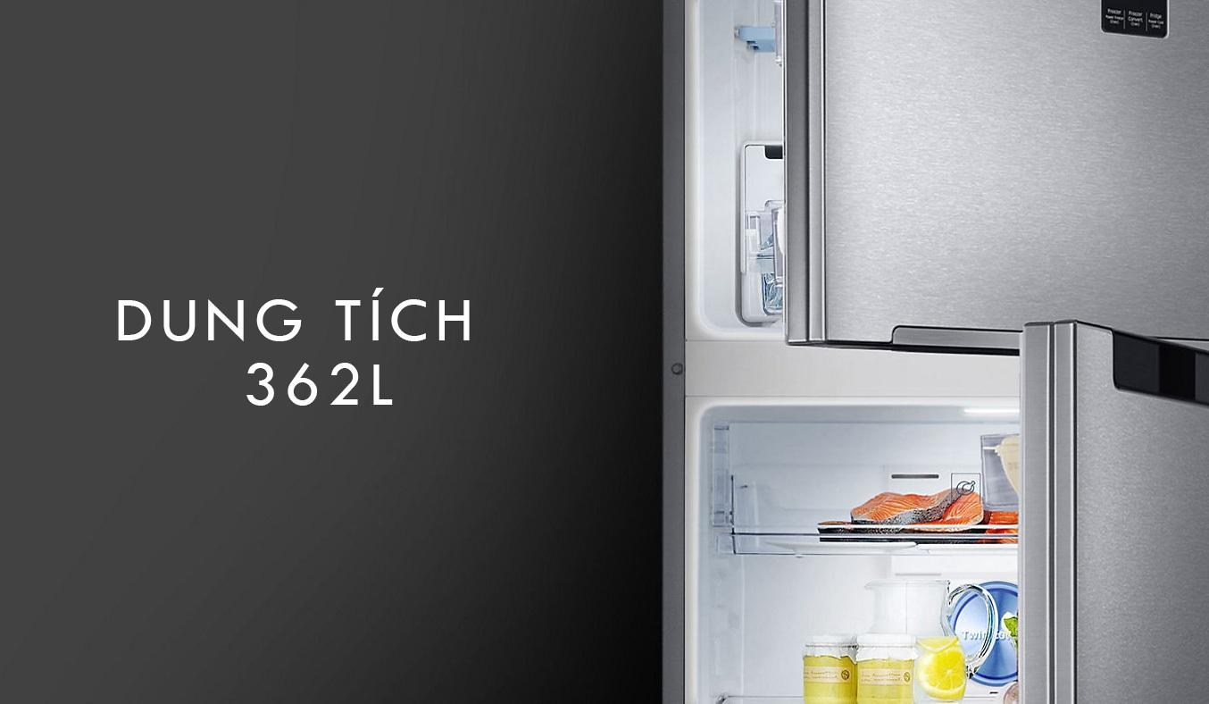 Tủ lạnhSamsung RT35K5982BS có dung tích 362 lít