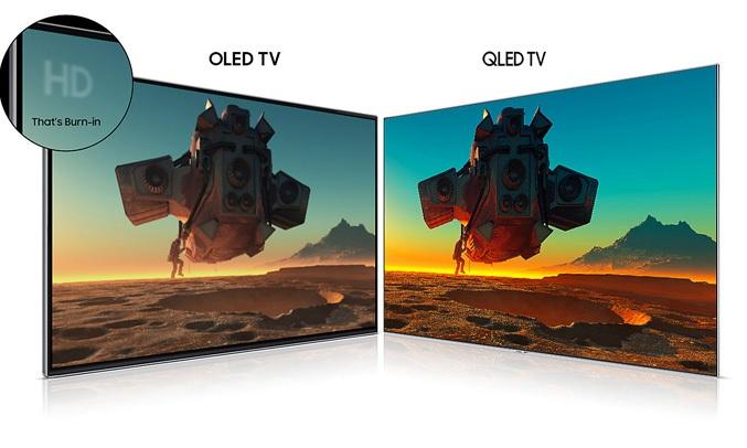 Tivi QLED Samsung 65 inch QA75Q9FNAKXXV sở hữu màn hình QLed bền bỉ